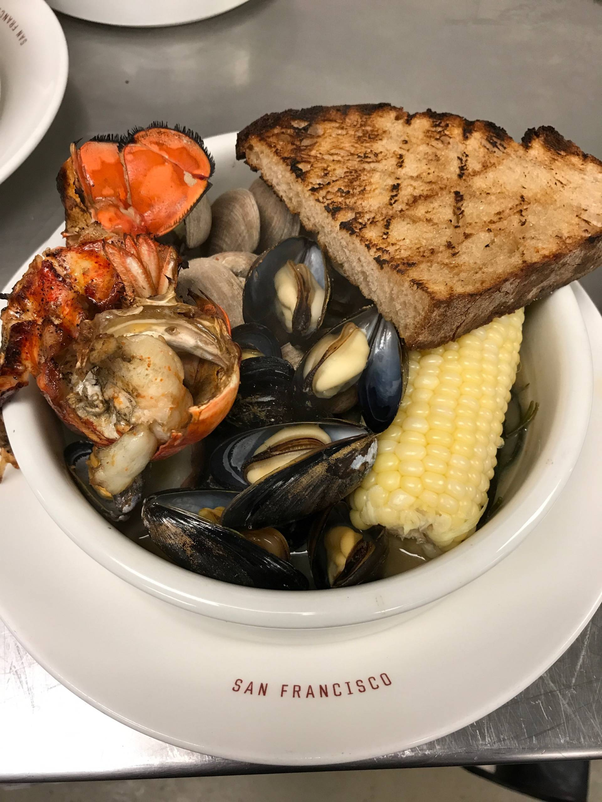 Get ready for Sunday Clambake at Presidio Social Club.