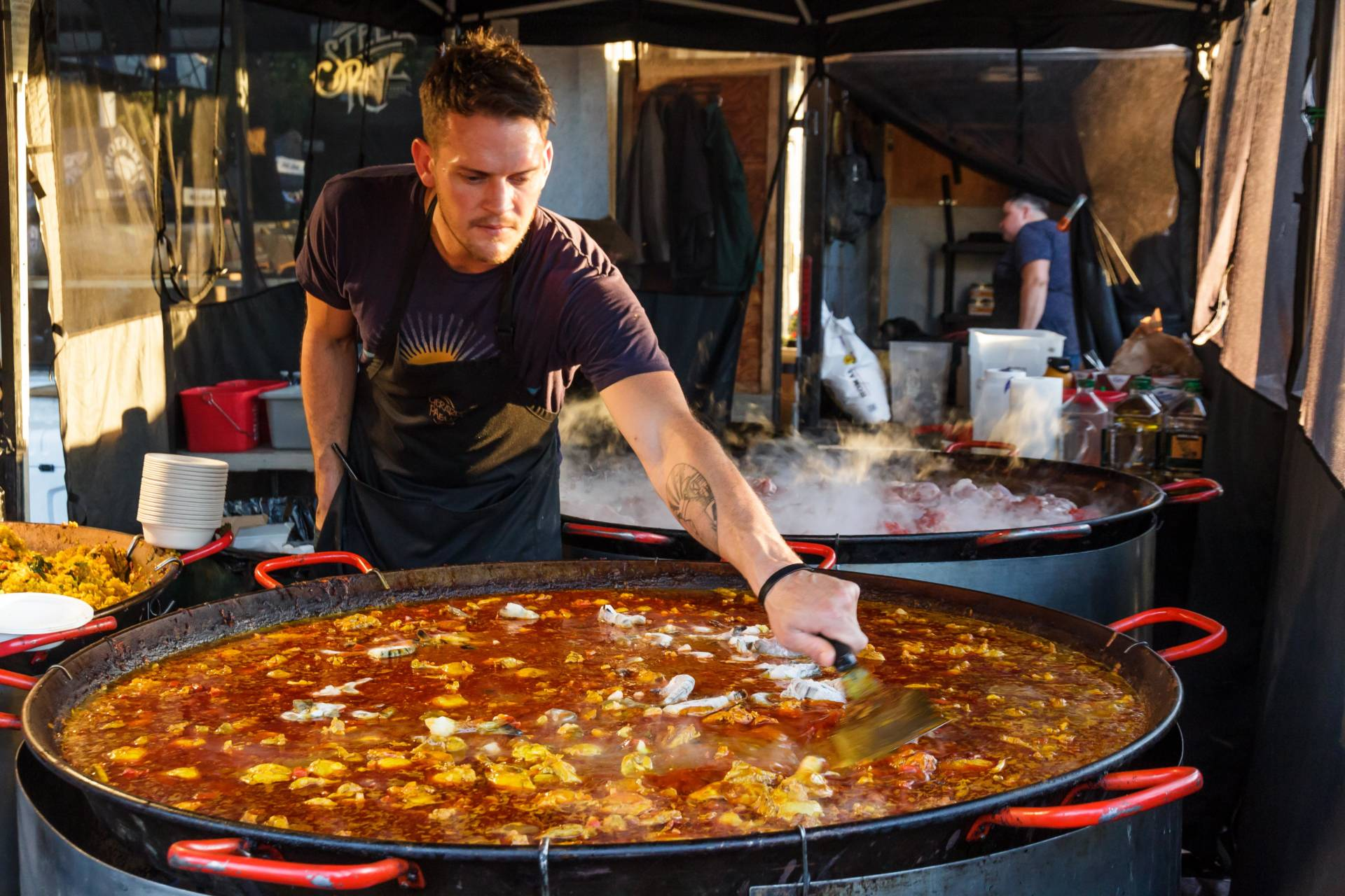 The Eat Real Festival knows how to feed a crowd.
