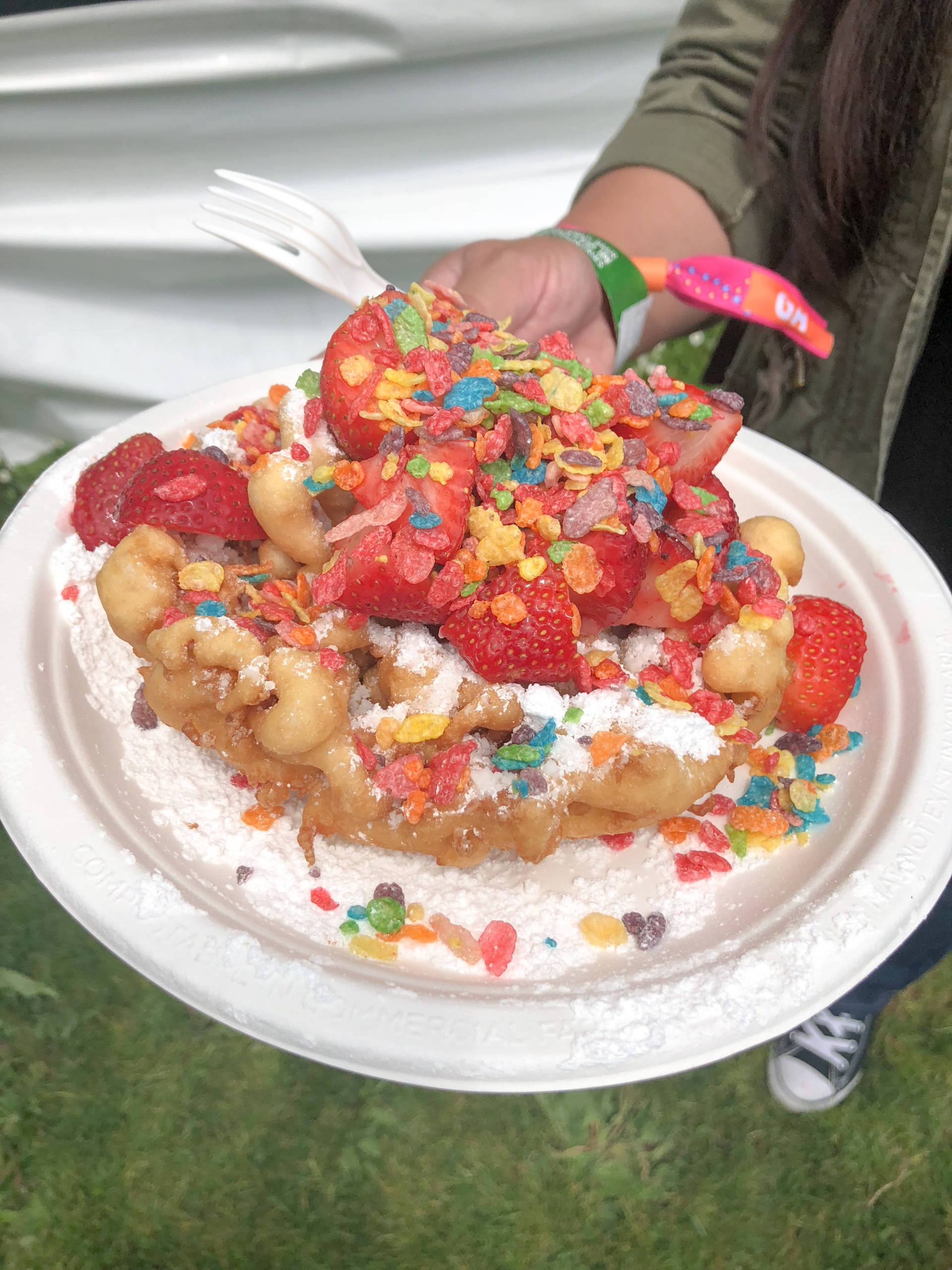 Endless Summer Sweets loaded funnel cake