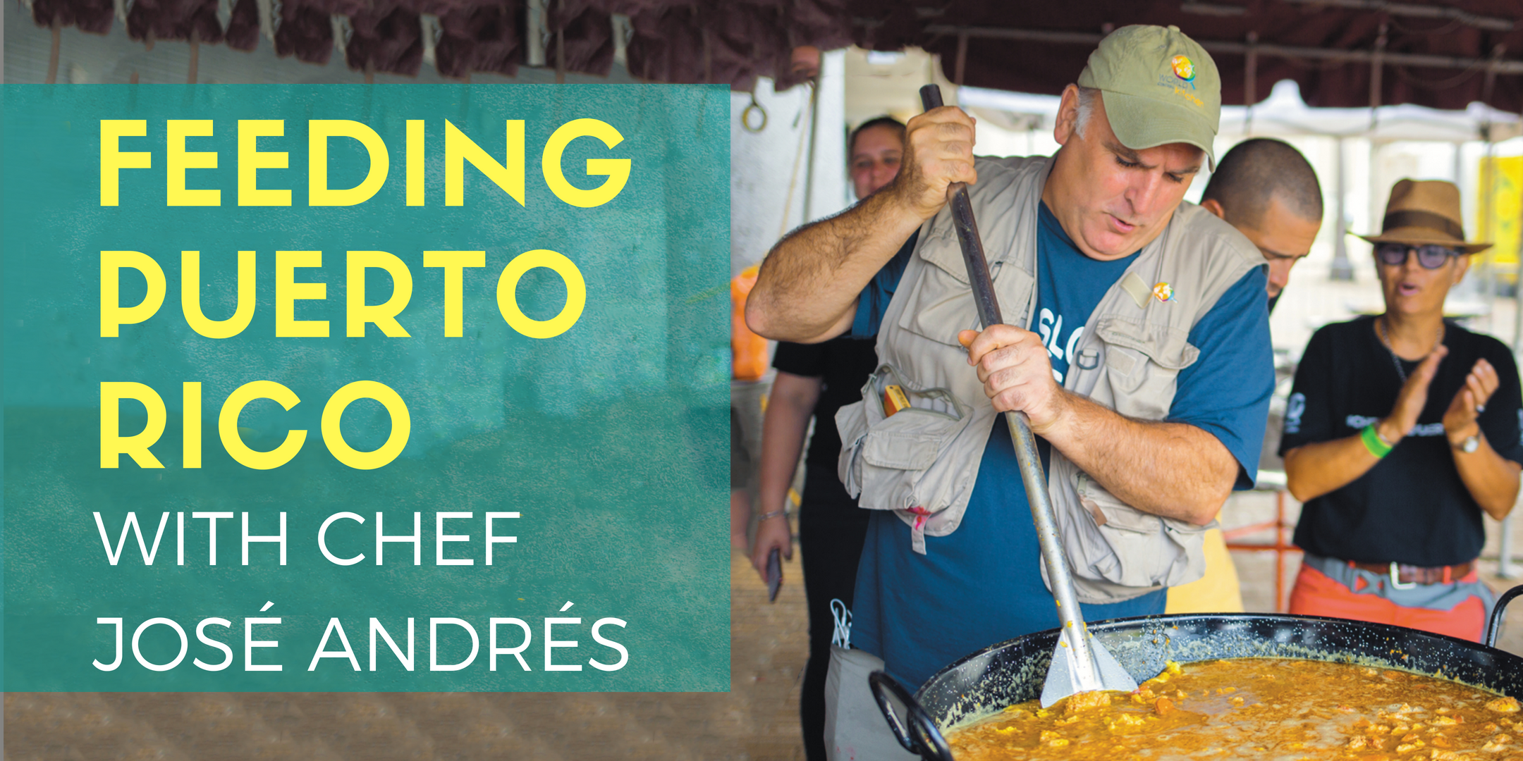 José Andrés has a new book: We Fed an Island: The True Story of Rebuilding Puerto Rico, One Meal at a Time.