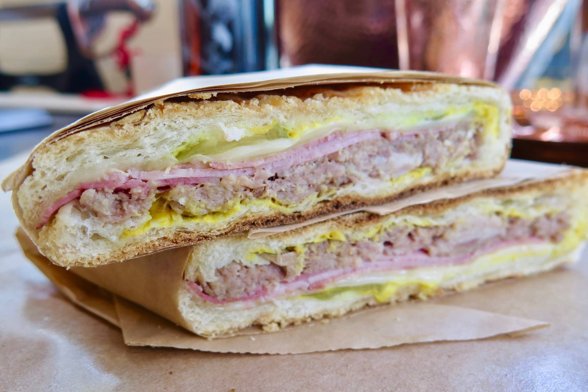 Find a tasty Cubano at Avedano's Deli at Maison Corbeaux.