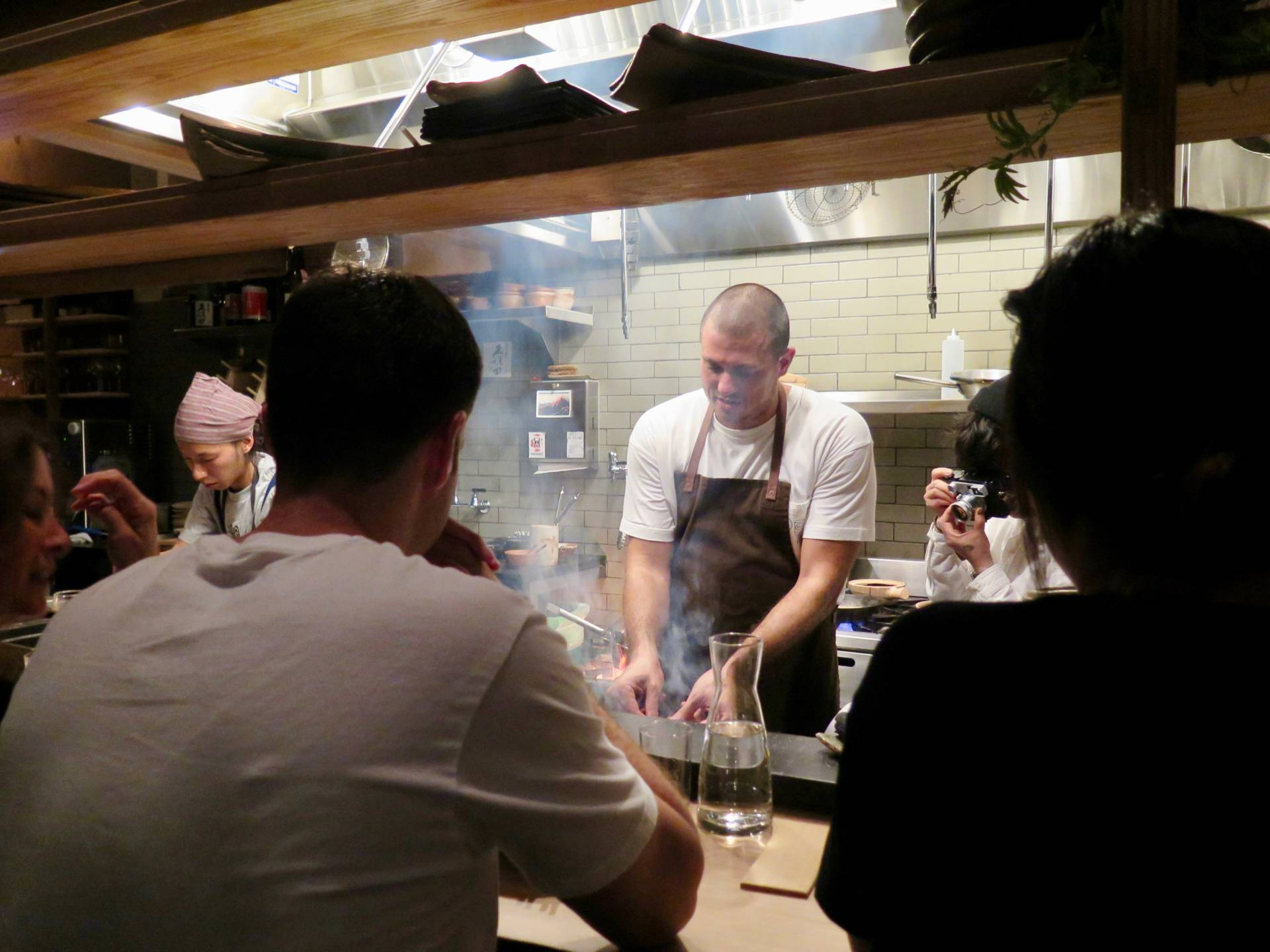 Izakaya Rintaro hosts guest chefs from around the world, like Matt Abergel of Hong Kong's Yardbird.