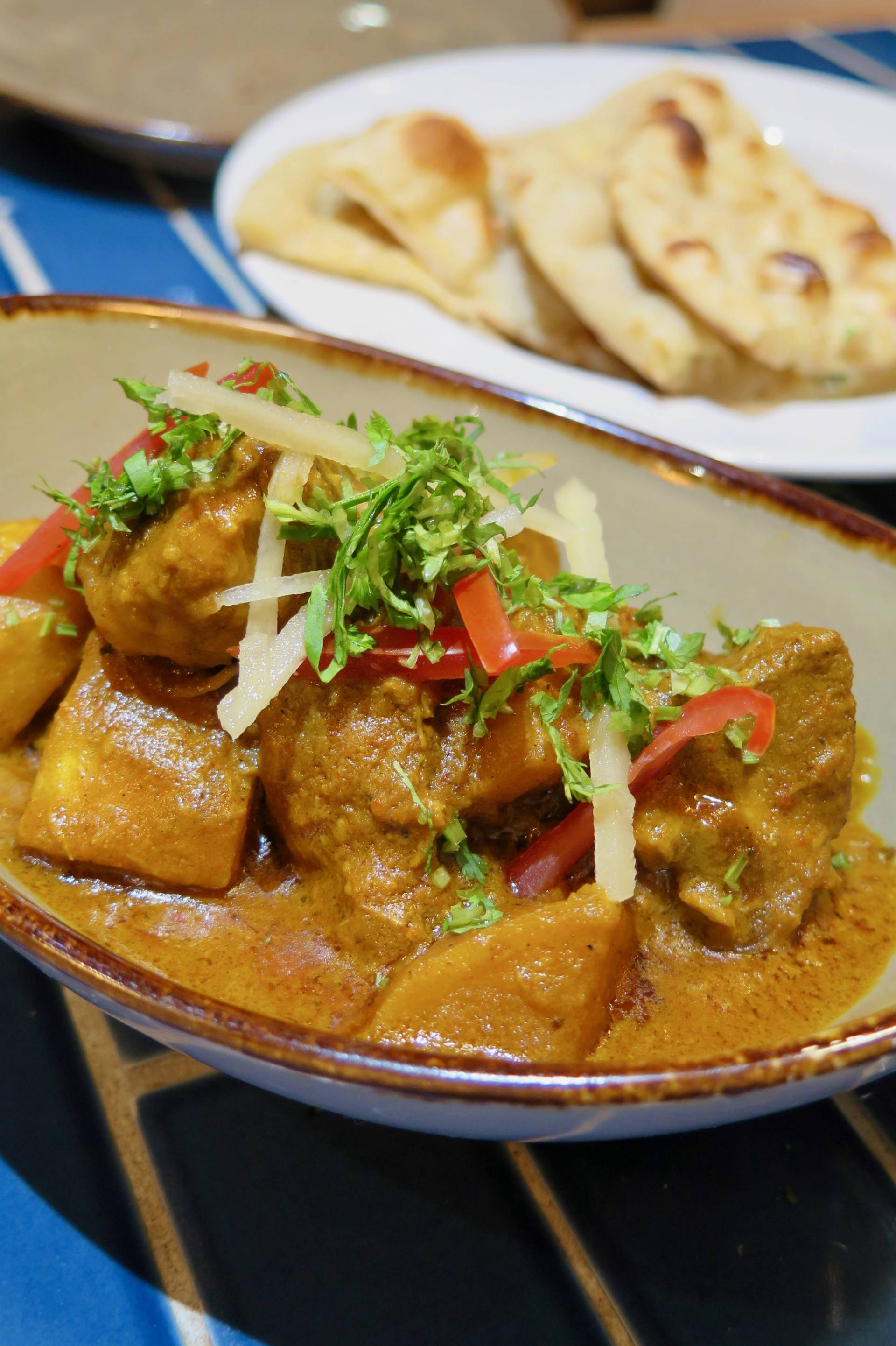 Don't miss Ritu's extraordinary pork vindaloo.