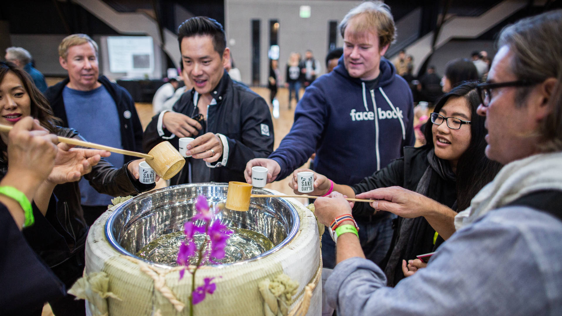 Explore and taste special sakes that aren't available in the U.S. at Sake Day.