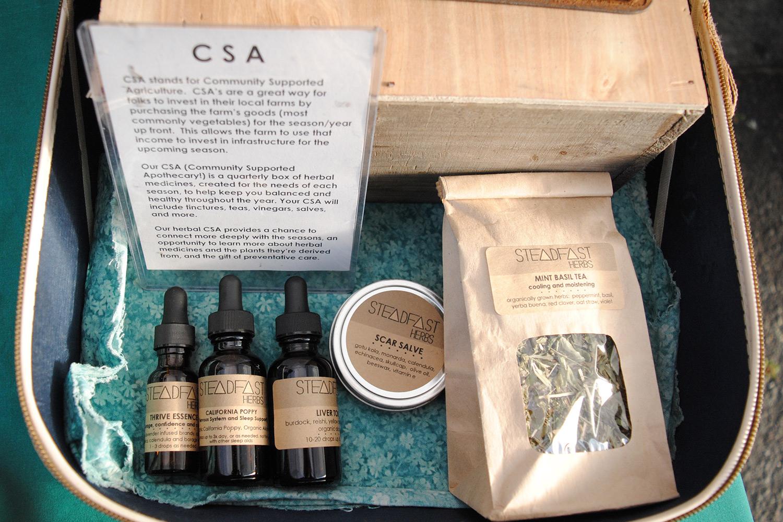 A Steadfast Herbs CSA.