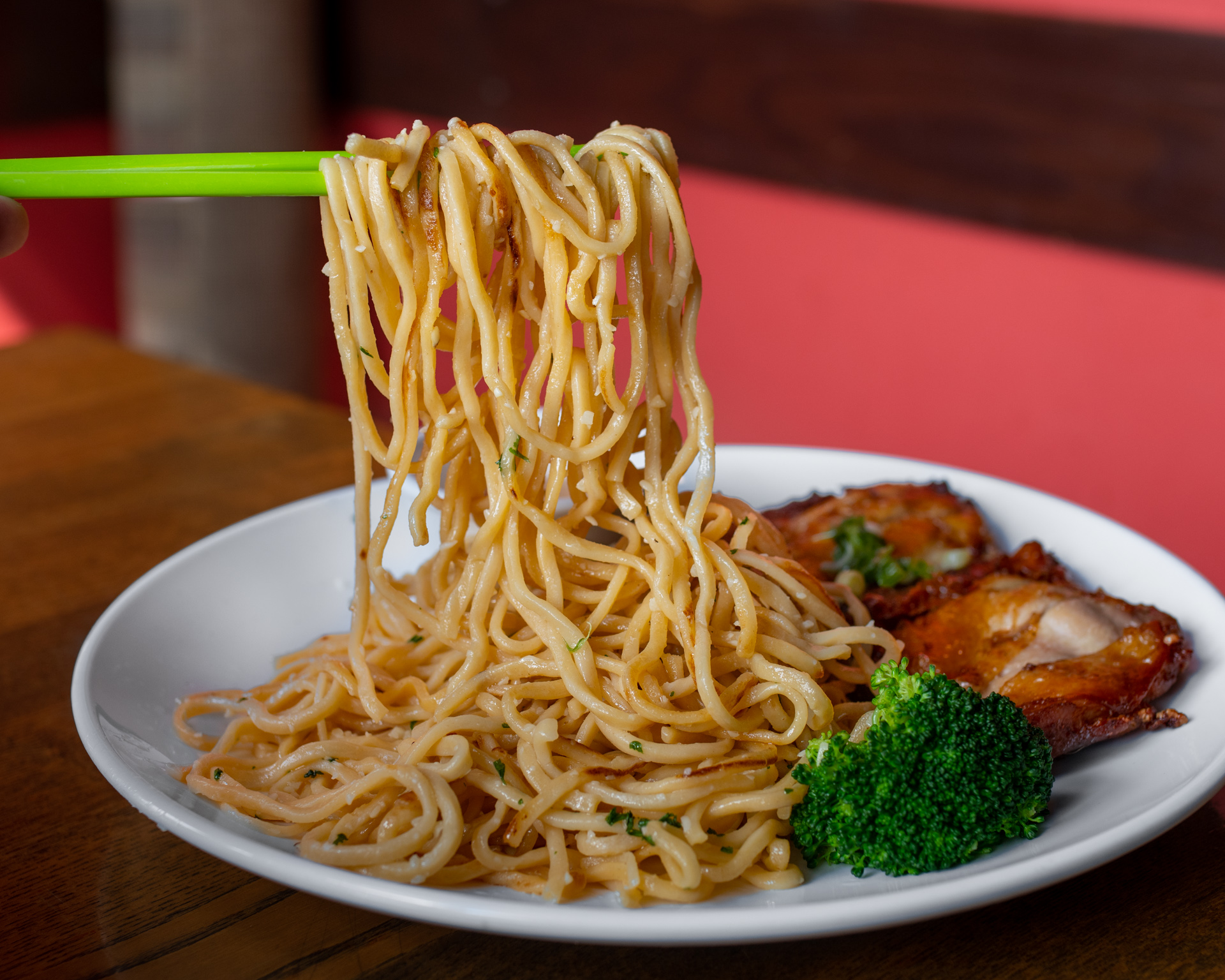 Perilla's Five Spice Chicken Garlic Noodles