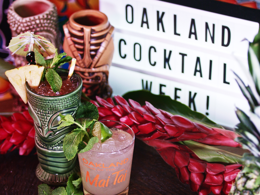 Be sure to enjoy a Mai Tai during Oakland Cocktail Week!