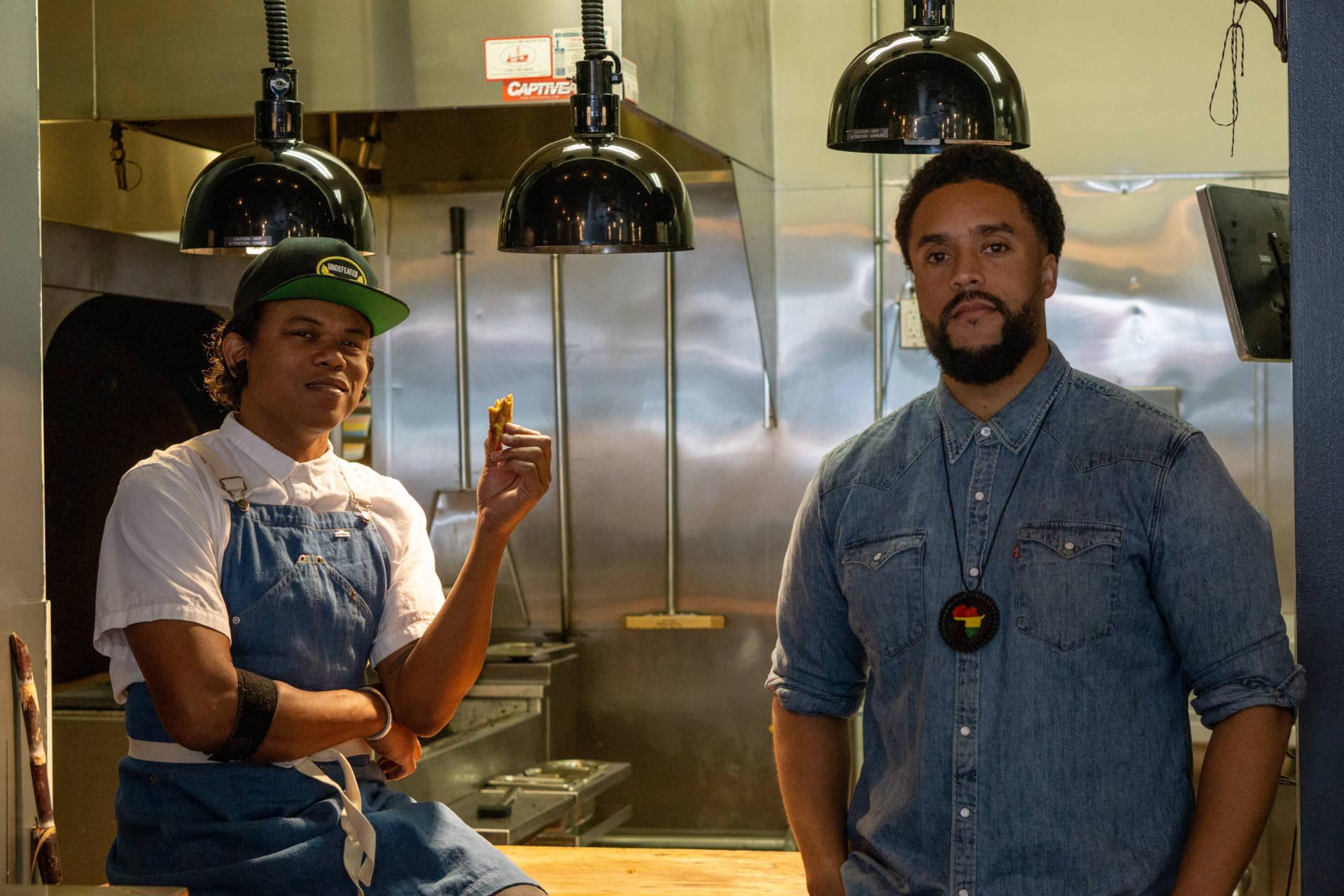 Isla Vida's chef-owner Jay Foster and co-owner Matthew Washington.
