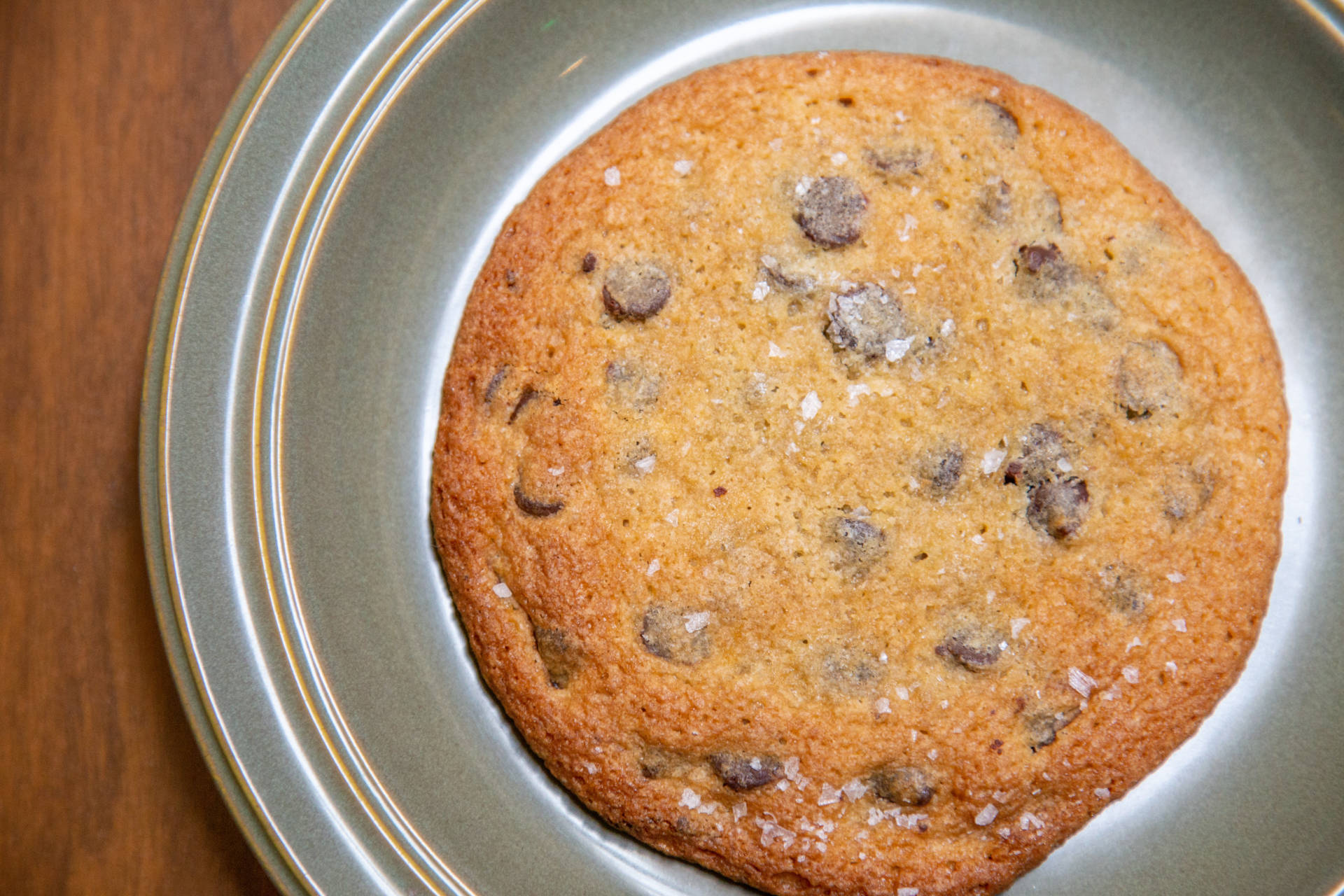 Provender's chocolate chip cookie.