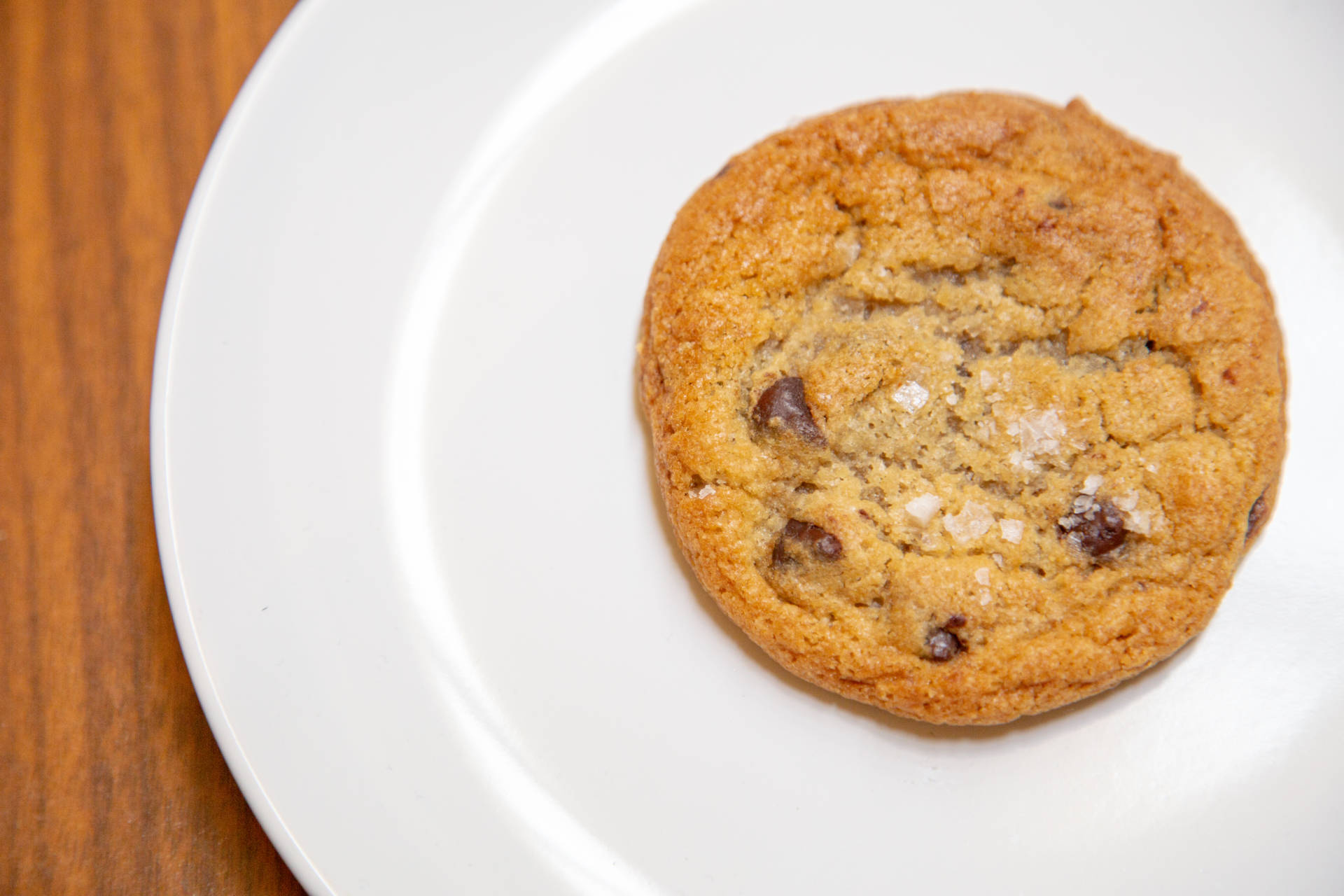 Chocolate chip cookie from Andytown.
