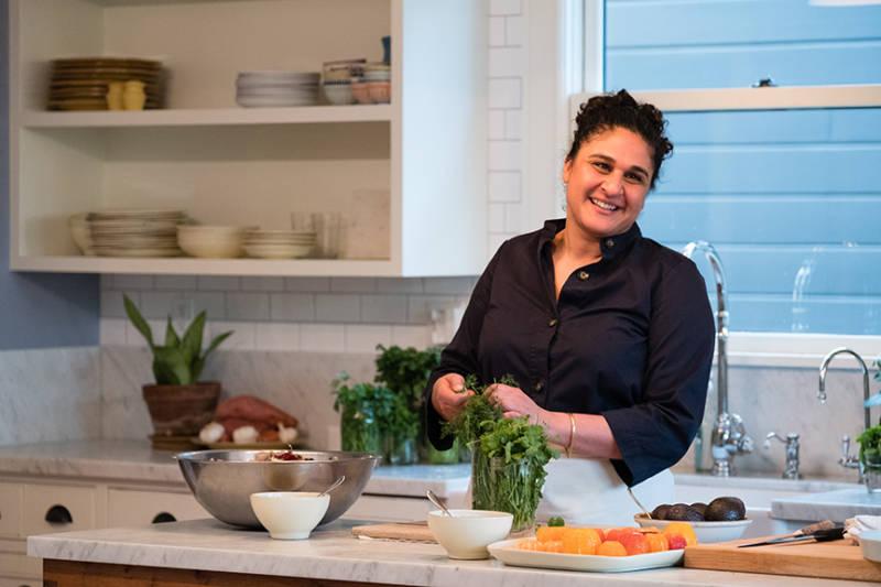 Samin Nosrat Serves Up 'Salt, Fat, Acid, Heat' on Netflix