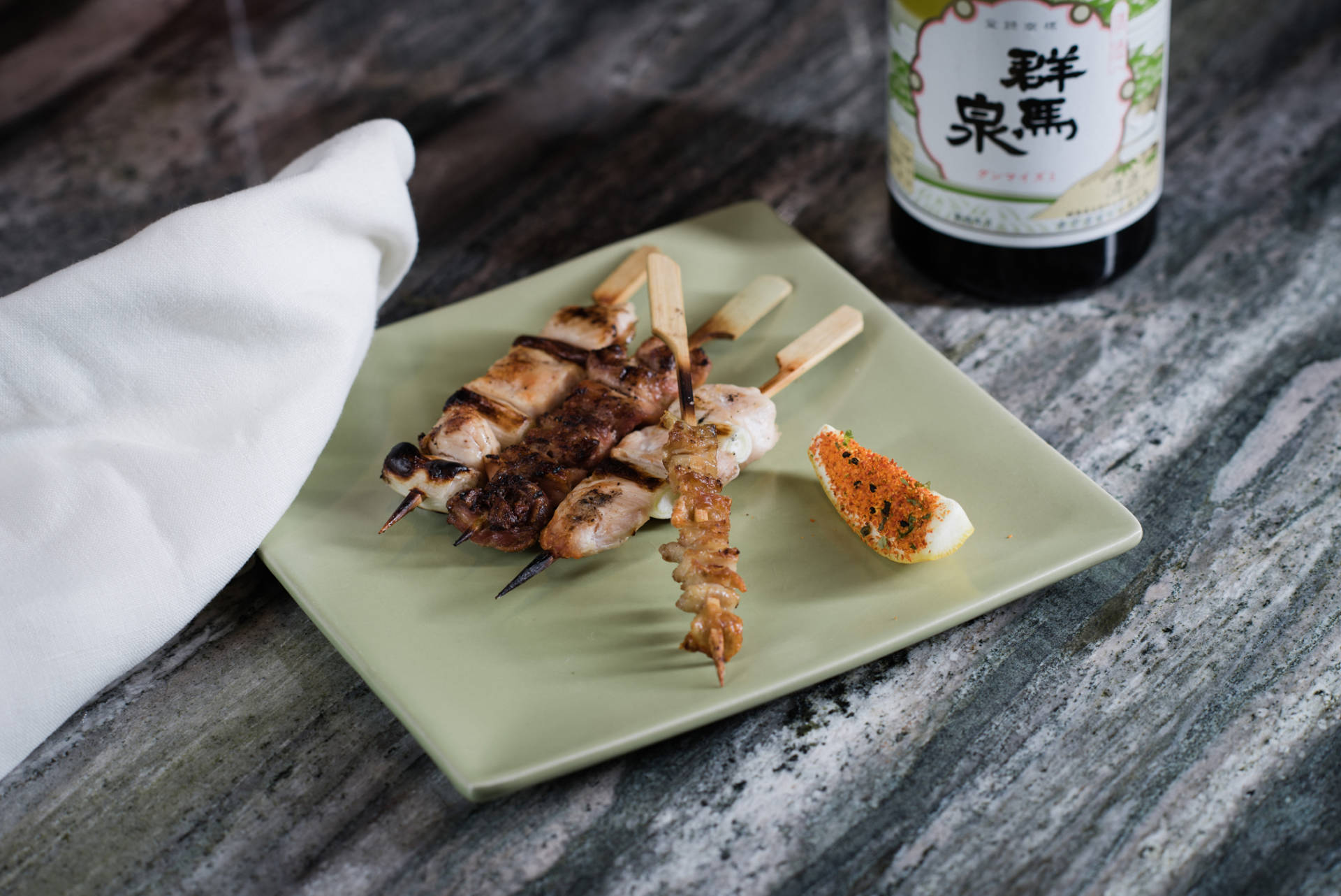 Get a taste of yakitori from chef Curtis DiFede at Miminashi in Napa.