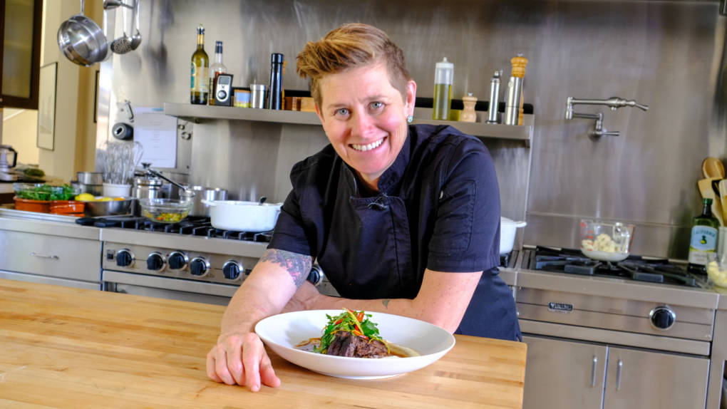 Celebrity Chefs Recipes Jen Biesty S Ancho Chili And Chocolate Braised Short Ribs Kqed