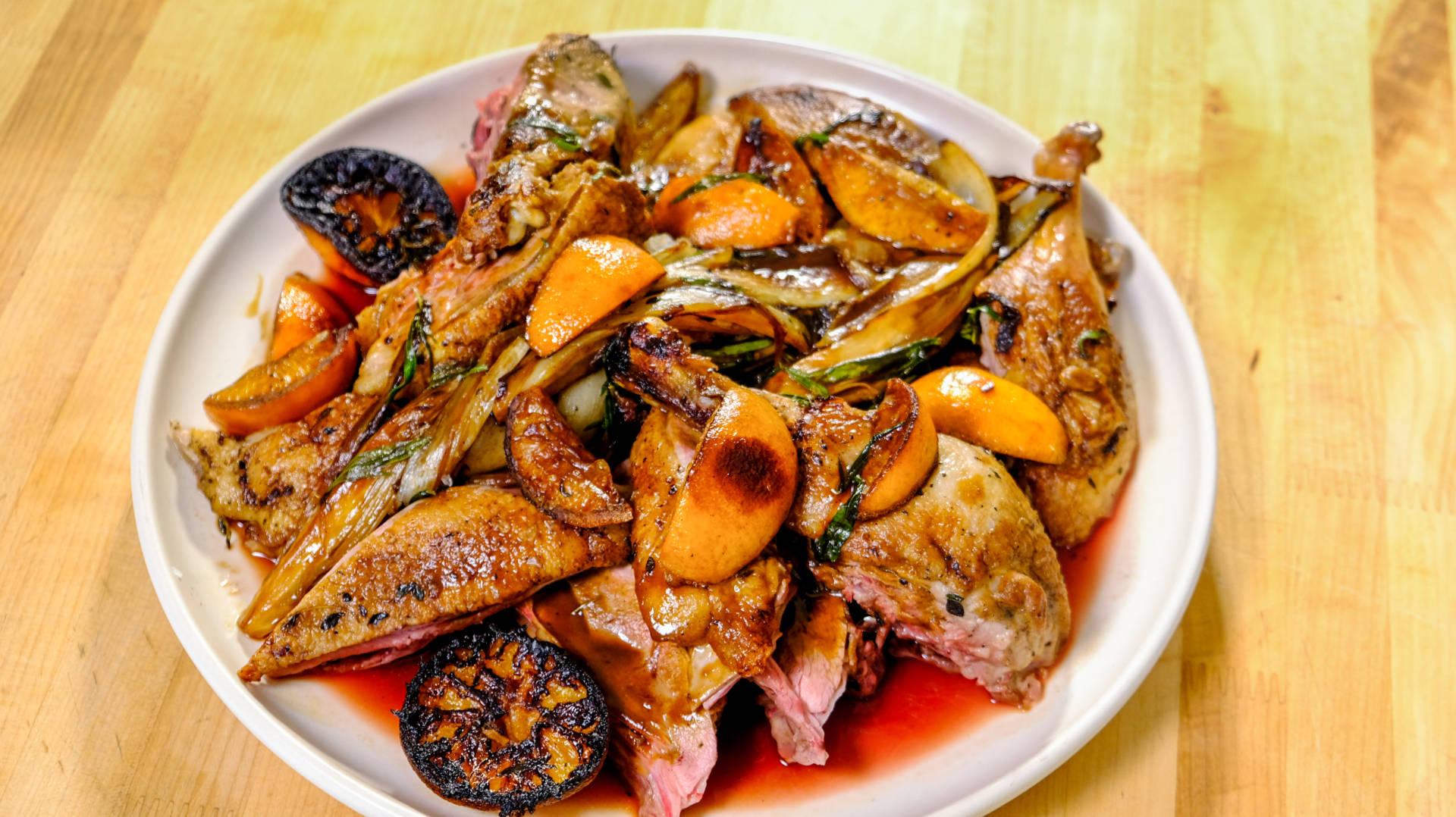 Christmas Duck Recipes.Celebrity Chefs Recipes Chris Cosentino S Christmas Duck