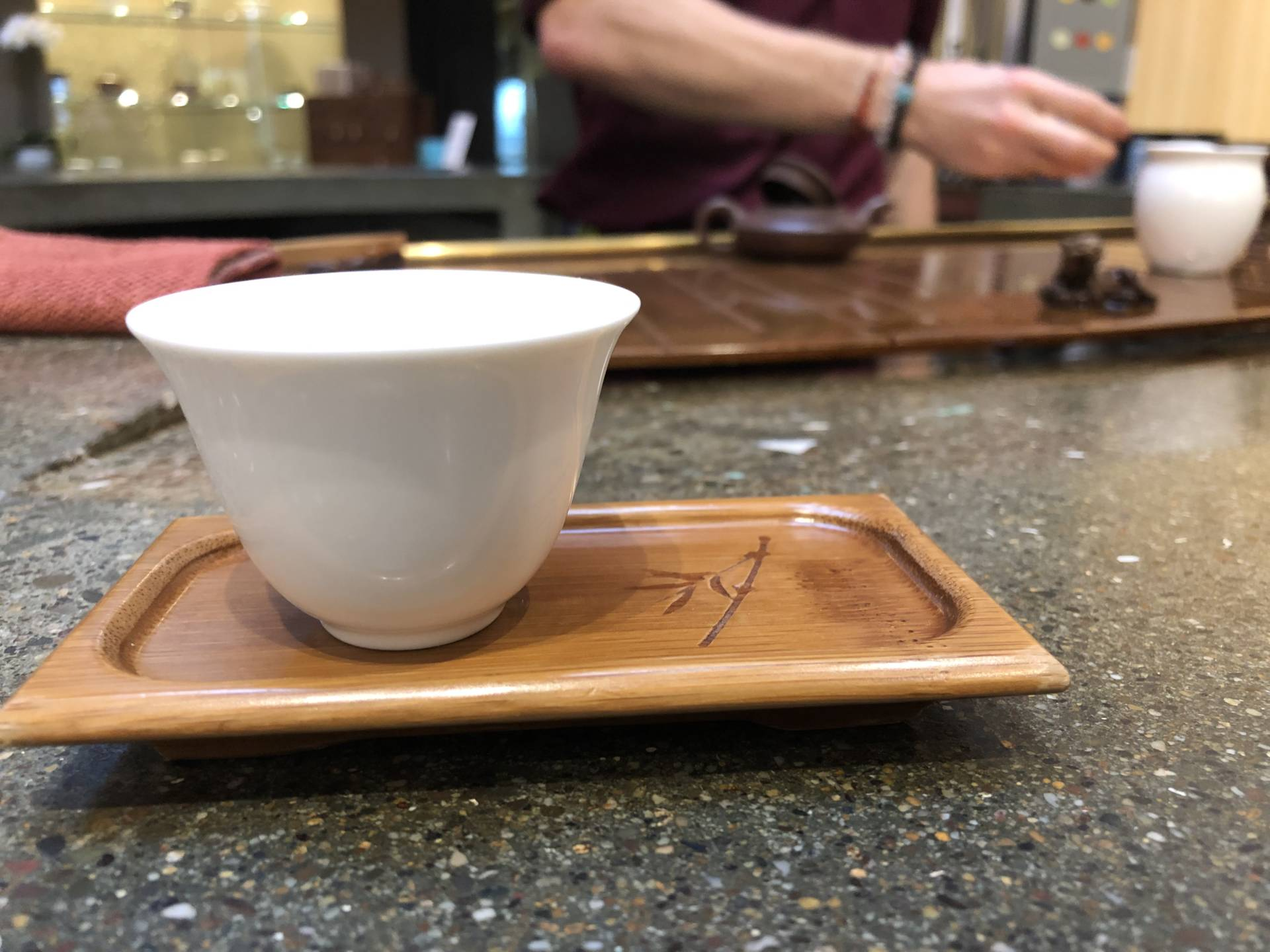 Experience new teas from around the world with a tea flight at Teance Fine Teas.