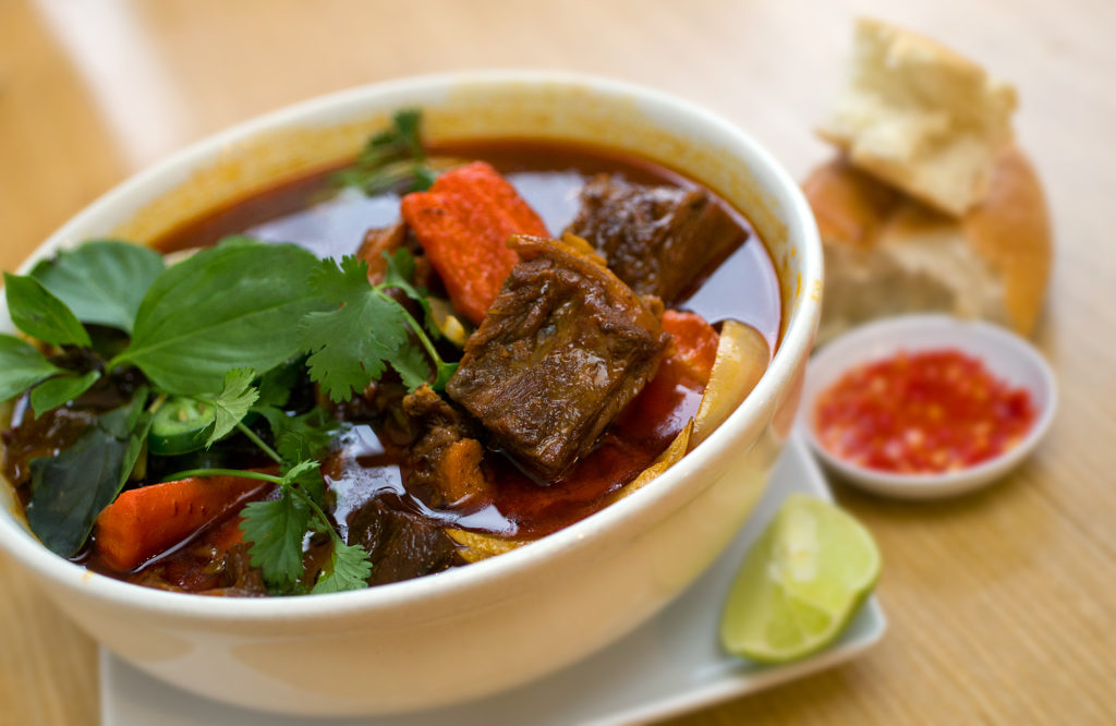 Bo Kho, Spicy Vietnamese Beef Stew, by chef Be Nguyen of Simply Vietnam.
