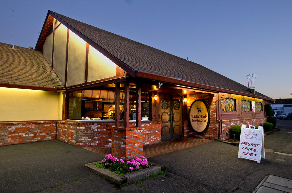 Willie Benedetti opened Willie Bird's Restaurant in Santa Rosa in 1980, but the old-fashioned interior remains from the days the building housed a hofbrau house.