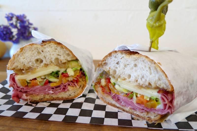 Table Talk Stellar Sandwiches Mardi Gras Parties Tony S Seafood Kqed