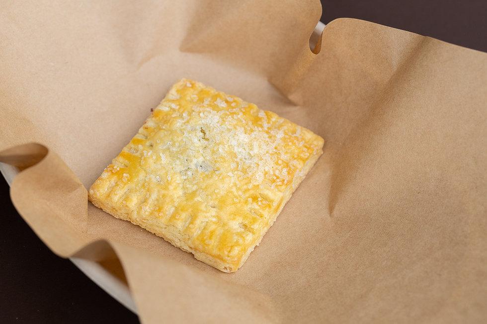 A flaky hand pie