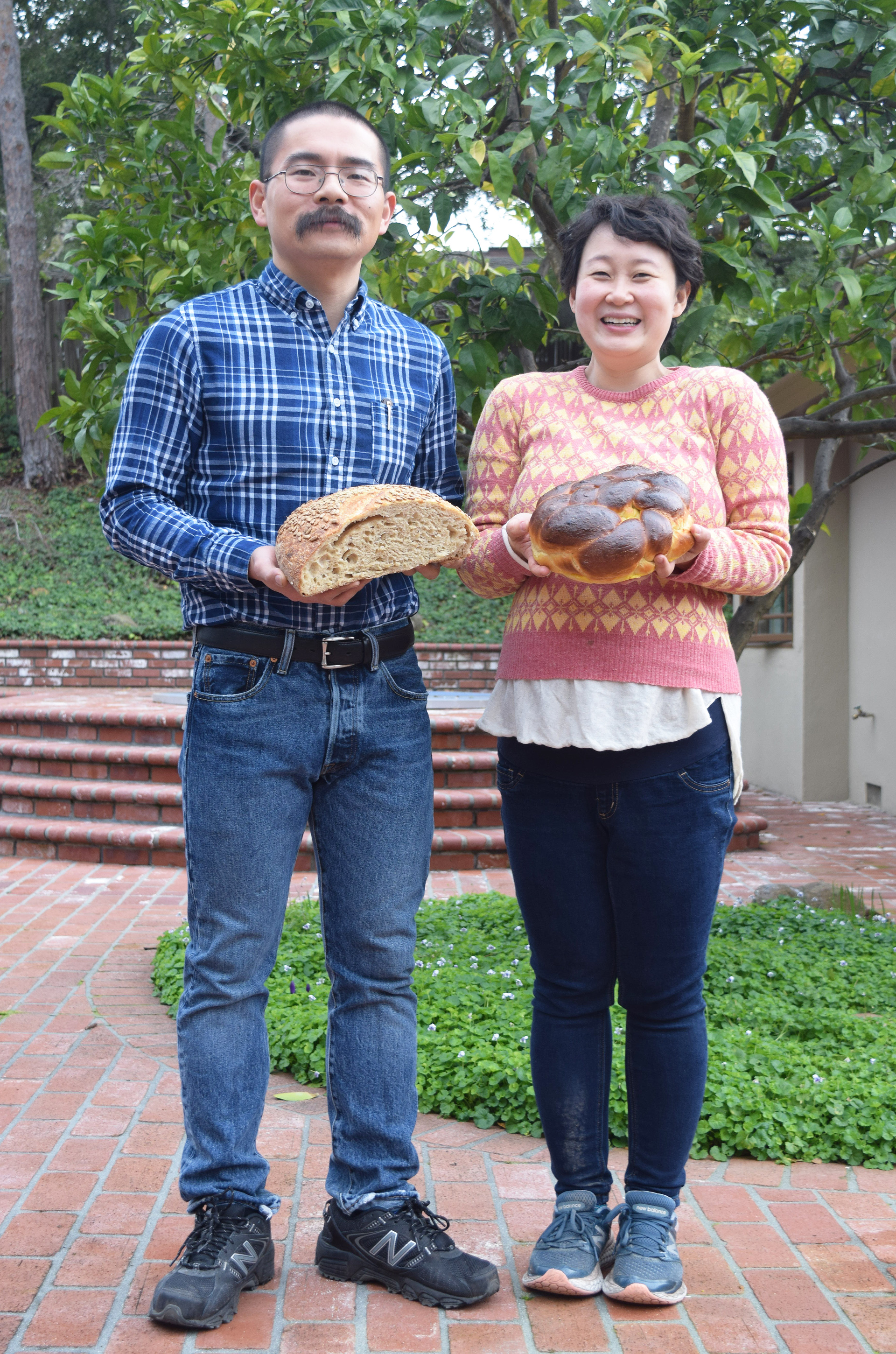 Yan Xu, left, and Tian Mayimin were pals at Harvard and got back together last year as partners in Little Sky Bakery.