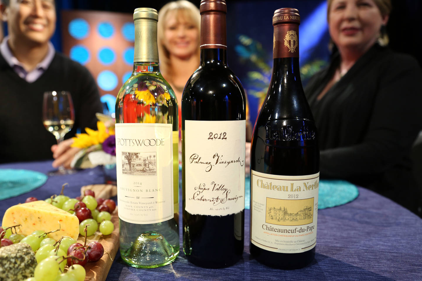 Wines that guests drank on the set of the premiere episode of Check, Please! Bay Area season 11 included a Spottswoode Sauvignon Blanc.