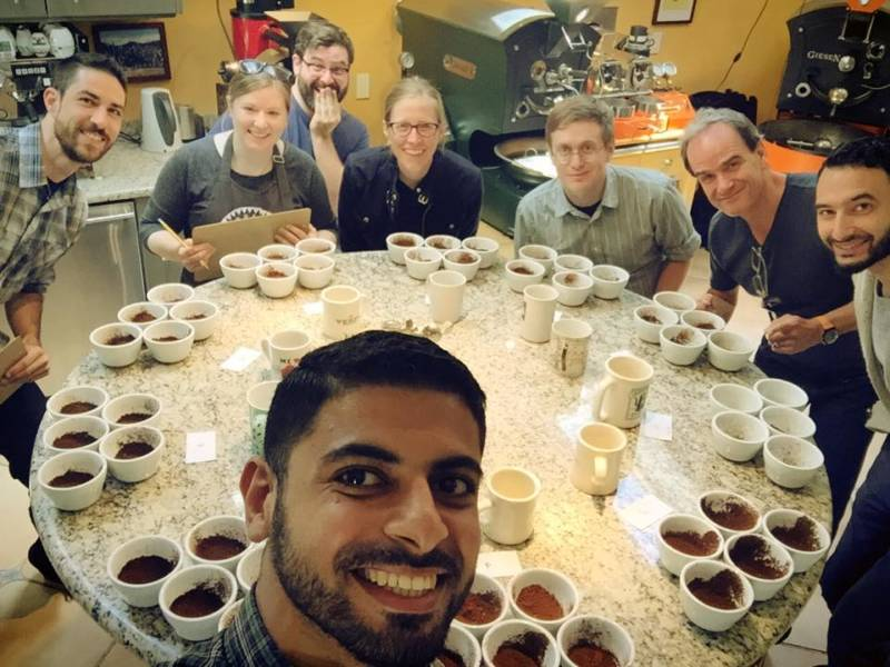 cupping with mokhtar