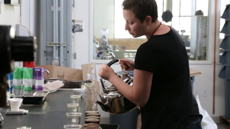 rj pouring cupping photo