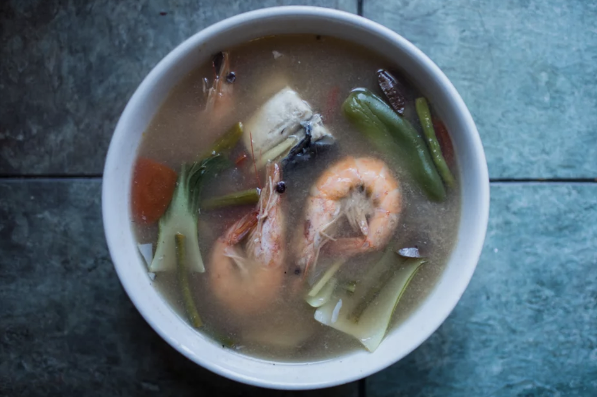 At Kuya's in San Bruno, Gilla recommends their fish dishes like bangus and sinigang.