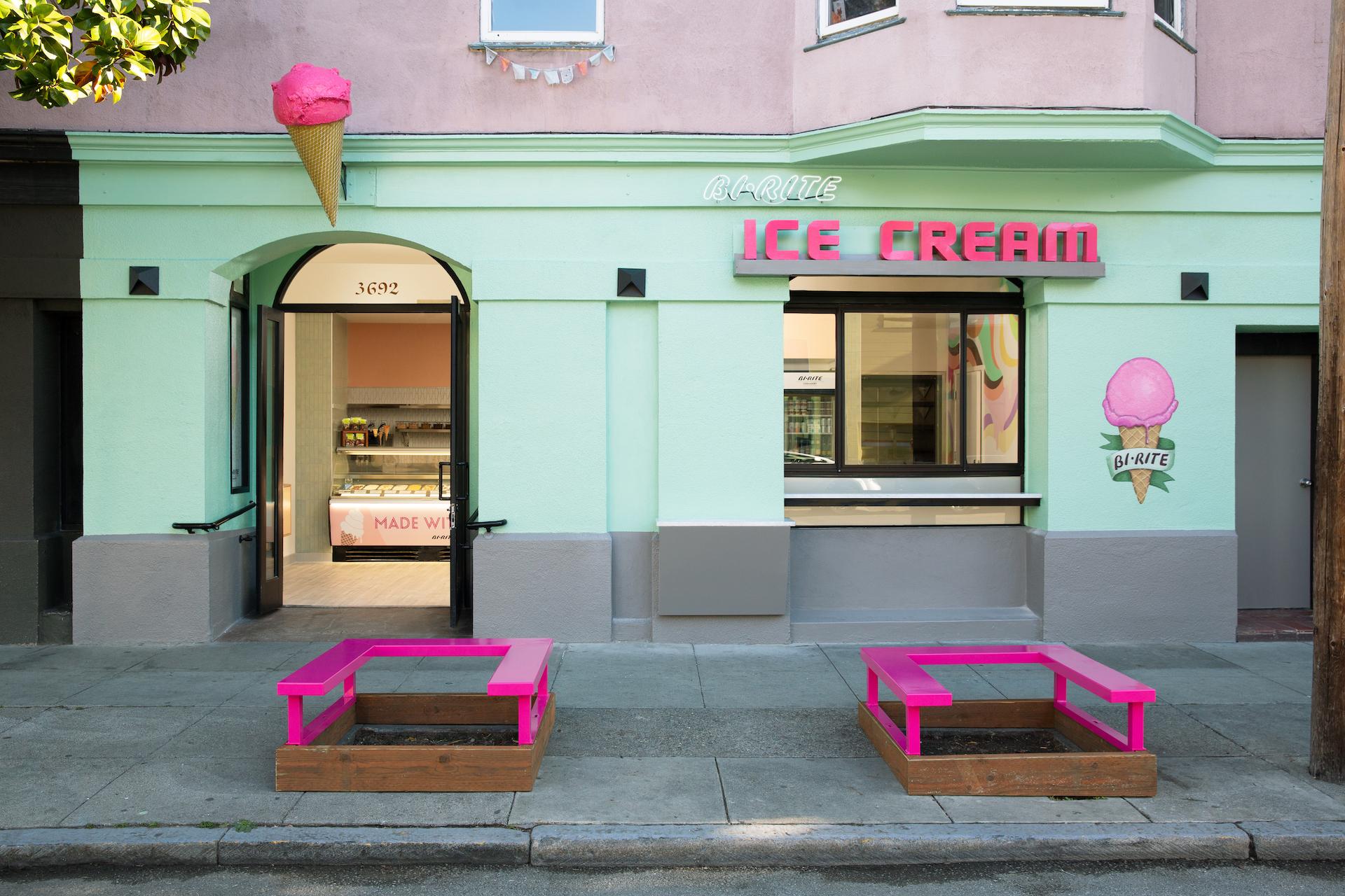 Bi-Rite Creamery's new exterior