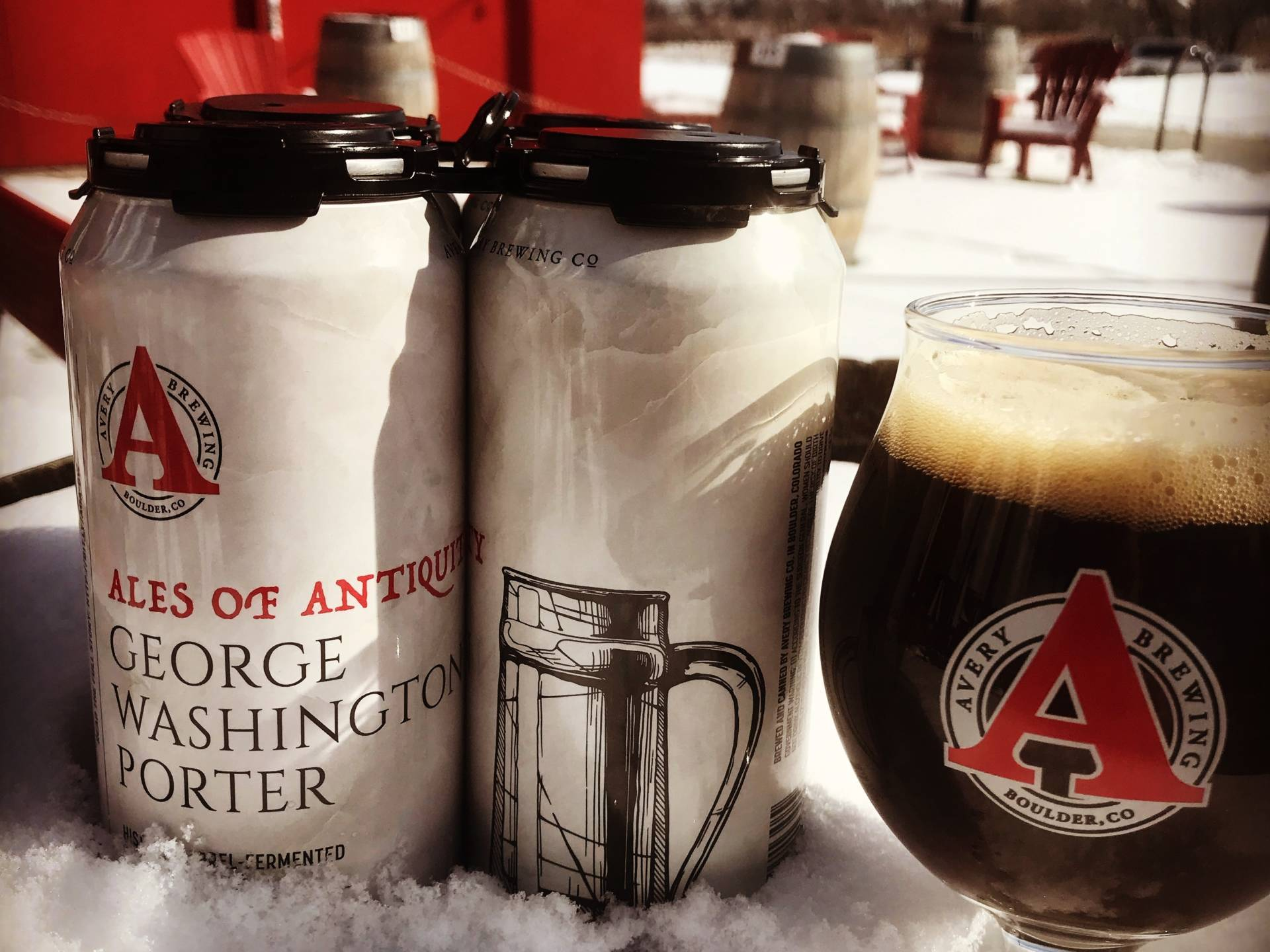 "The latest ""Ale of Antiquity"" was inspired by George Washington's preference for porters. Rupp says one historic account mentioned the president ""drank porter and three glasses of wine and became quite boisterous by the end of the dinner."""