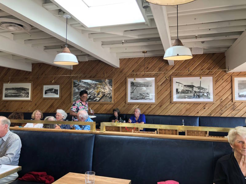 Inside the revamped 99-year old Sam's Anchor Cafe