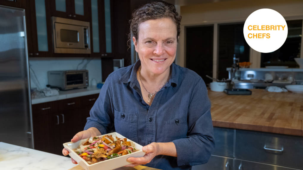 Celebrity Chefs Recipes: Traci Des Jardins's Quick Pickled Spring Mushrooms and Vegetables