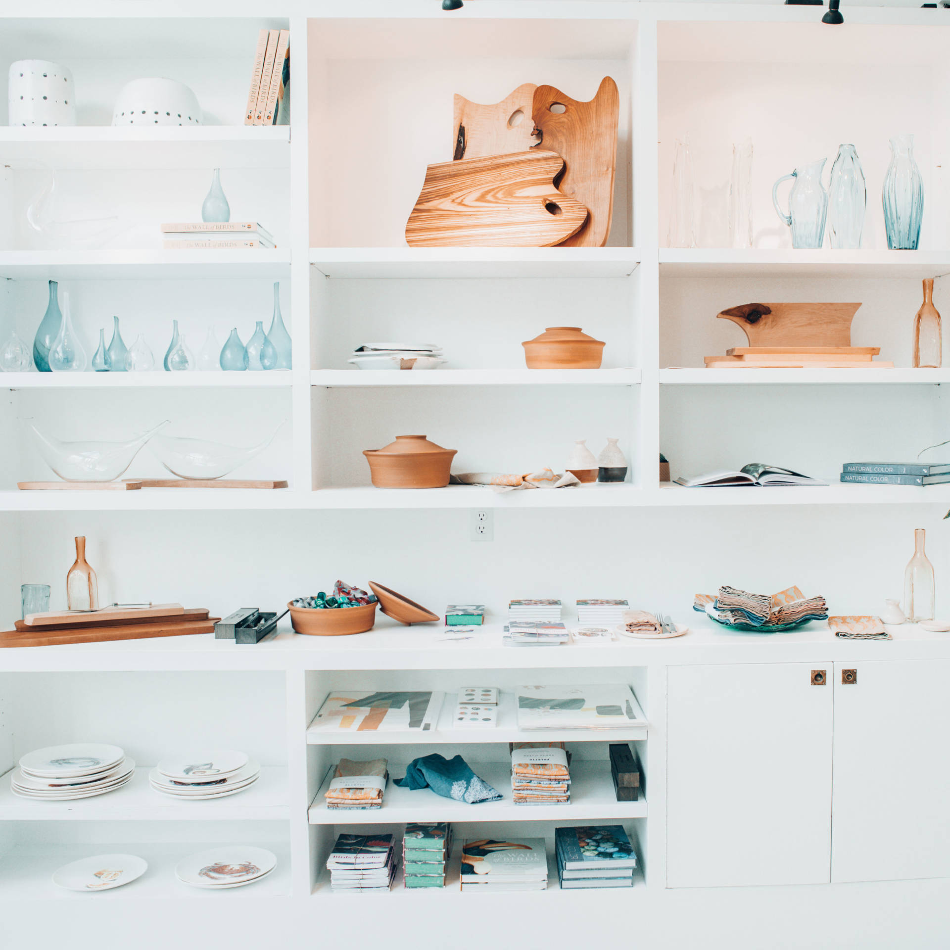 At Palette, there is a connected shop where you can buy different commissioned Bay Area pieces.