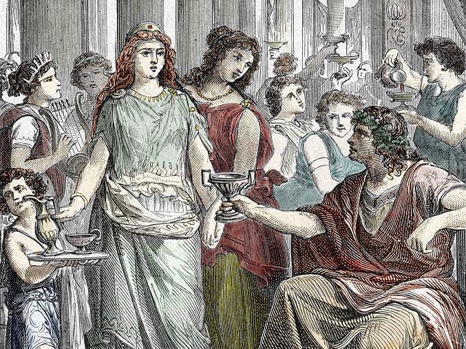 Roman orgy for apple tv