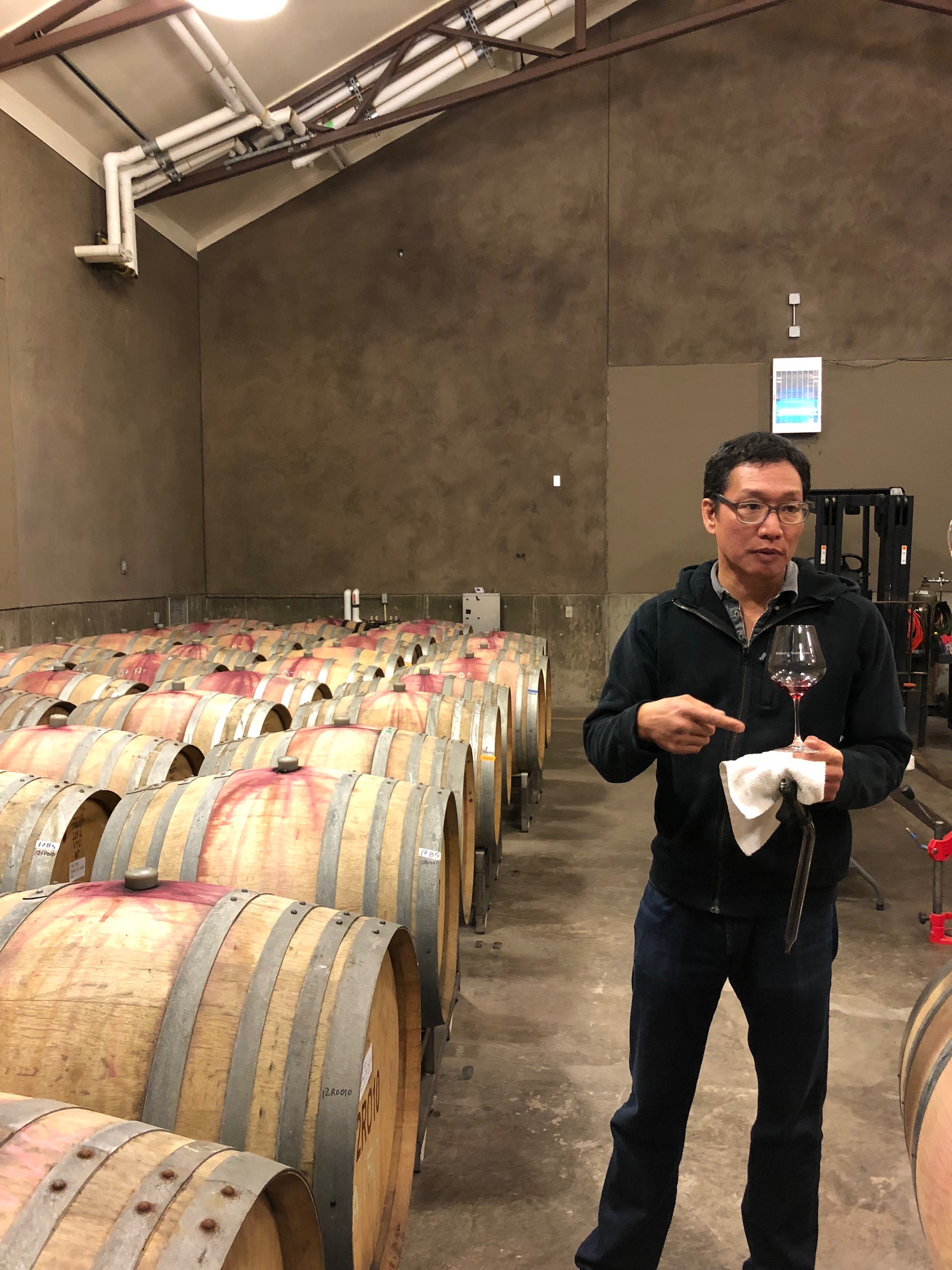 Domaine Anderson winemaker Darrin Low discusses the latest vintage