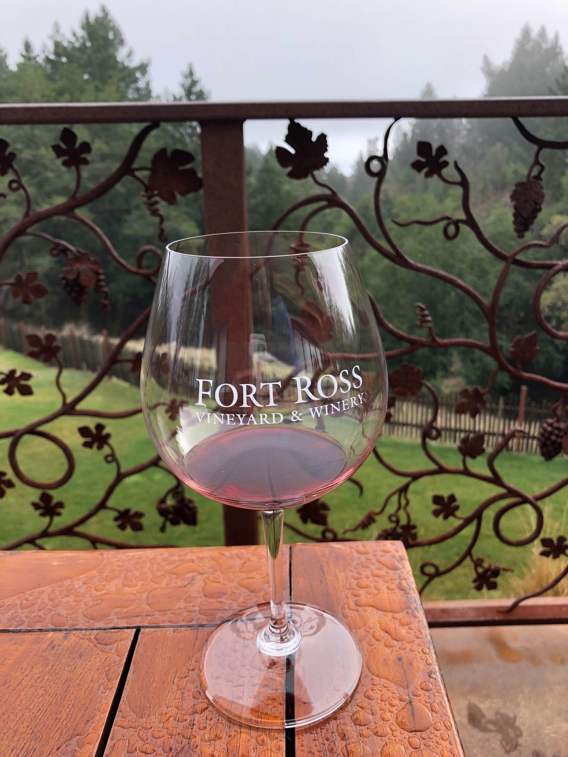 Fort Ross Vineyard & Winery in the far reaches of West Sonoma County