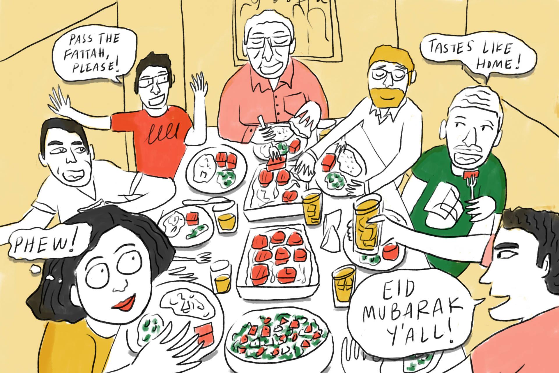 Hide The Wine! I'm Hosting My First Eid Al-Adha Feast