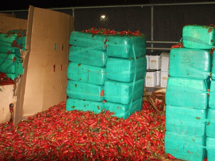 Spicy With A Twist: Nearly 4 Tons Of Pot Found In Jalapeno Shipment