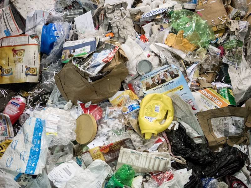 U.S. Recycling Industry Is Struggling To Figure Out A Future Without China