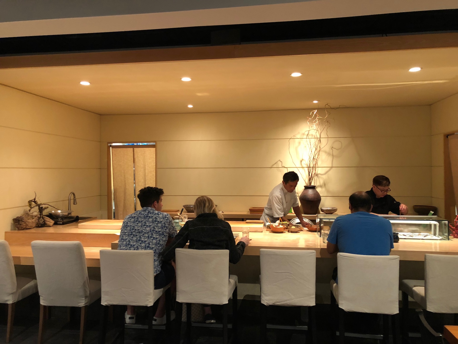 Celebrity Dining: The relaxed yet elegant sushi counter at Gintei in San Bruno.