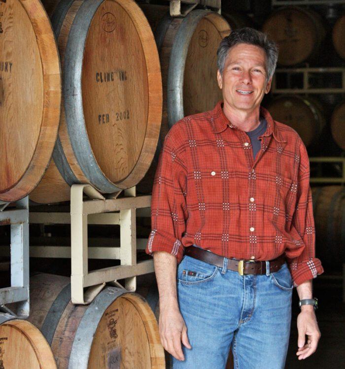 Cline Family Cellars winemaker Charlie Tsegeletos.