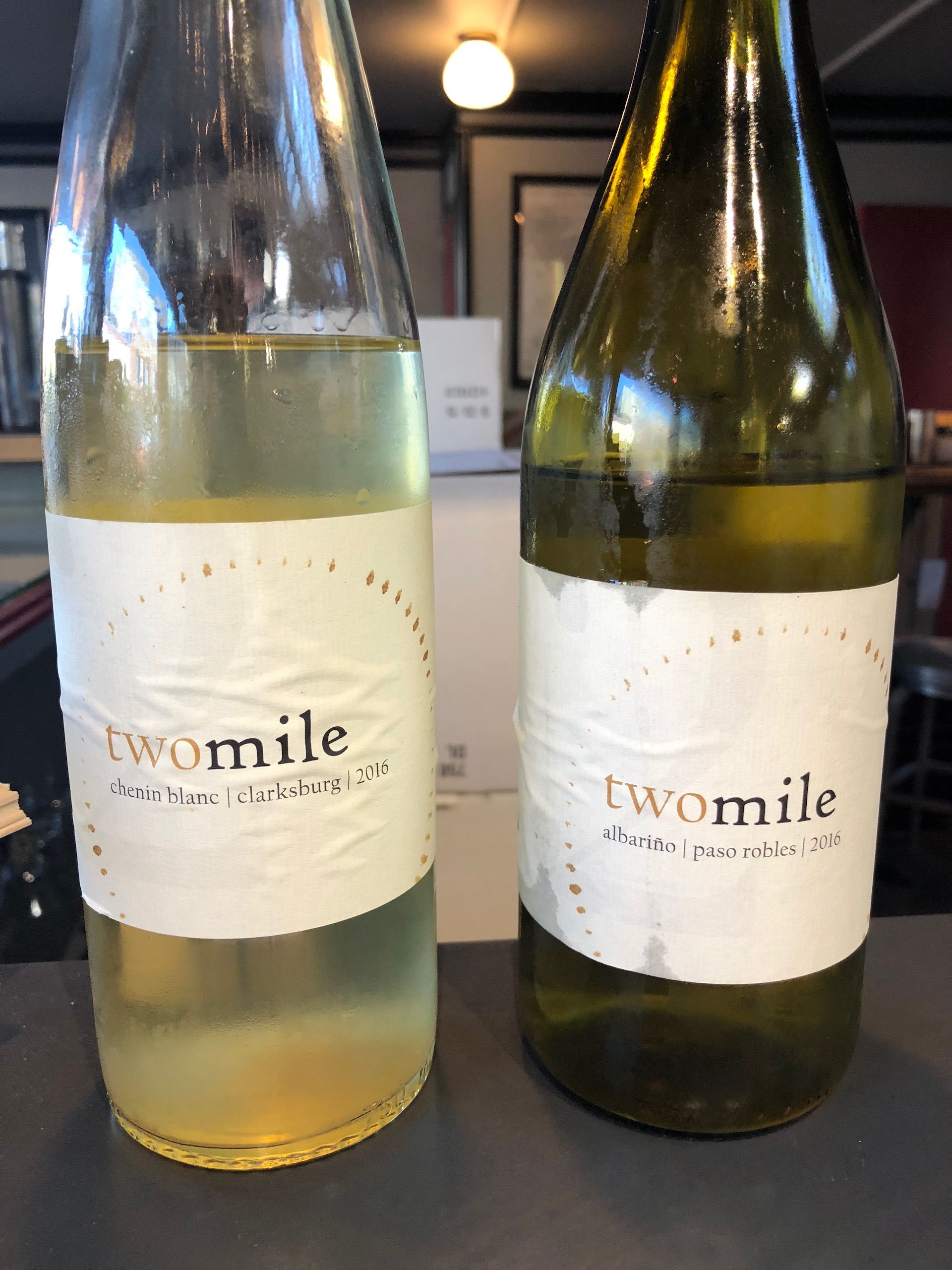 two mile in Oakland excels at lesser known whites like Albariño and Chenin Blanc