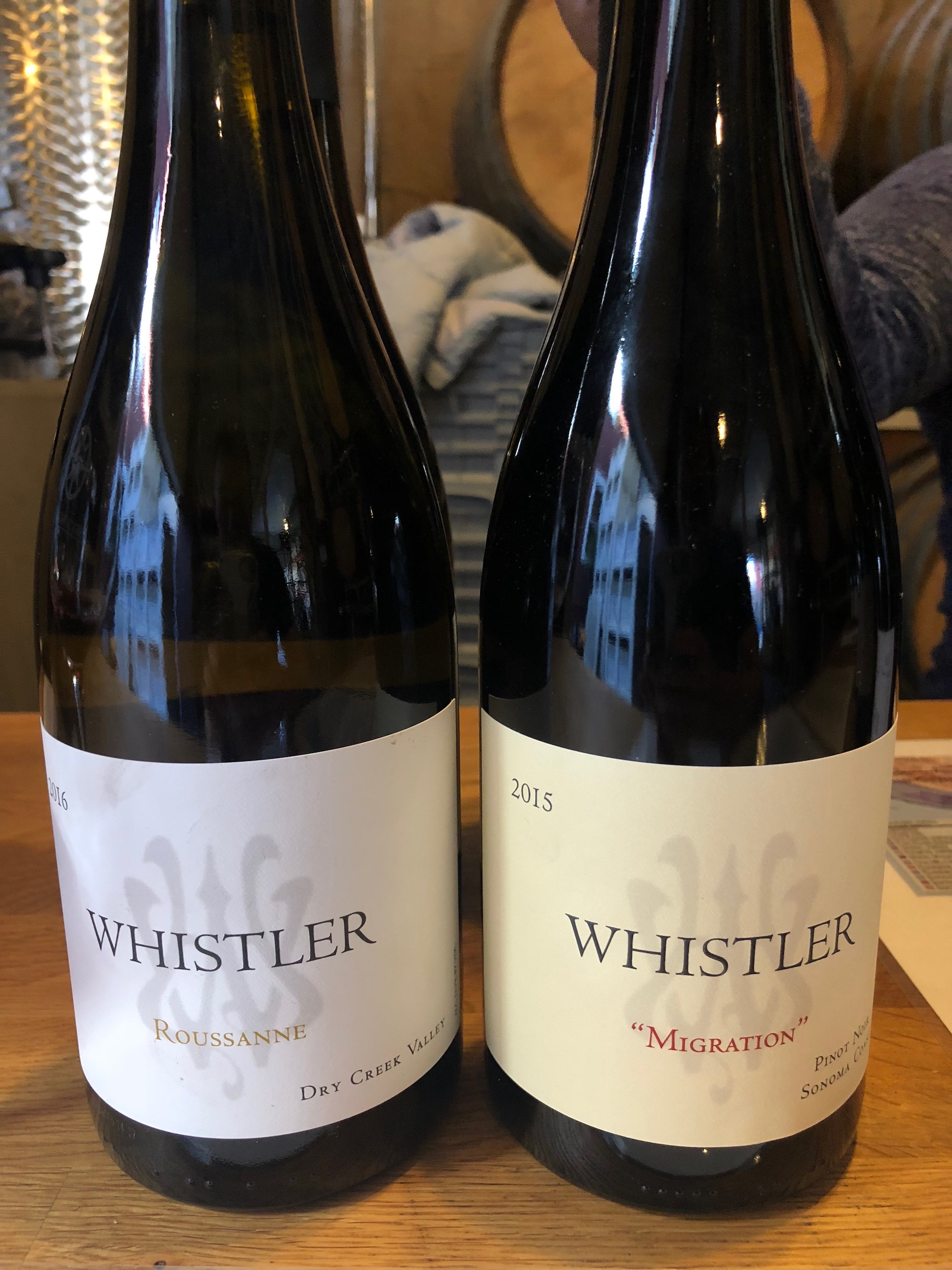 Whistler specializes in excellent estate Pinot Noir from the Sonoma Coast