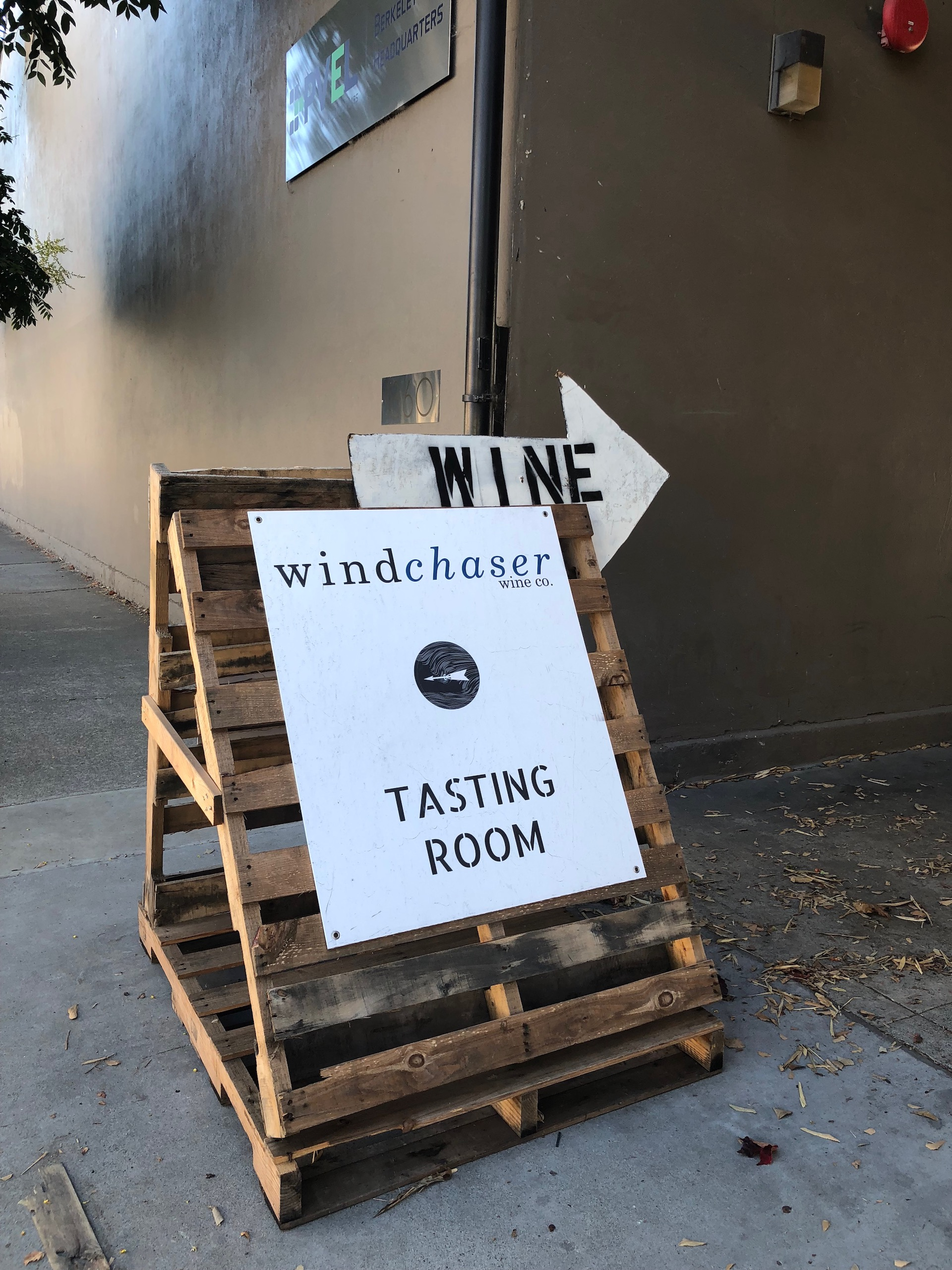 The wind blows wine tasters to some of the best urban winery wines at Windchaser in Berkeley