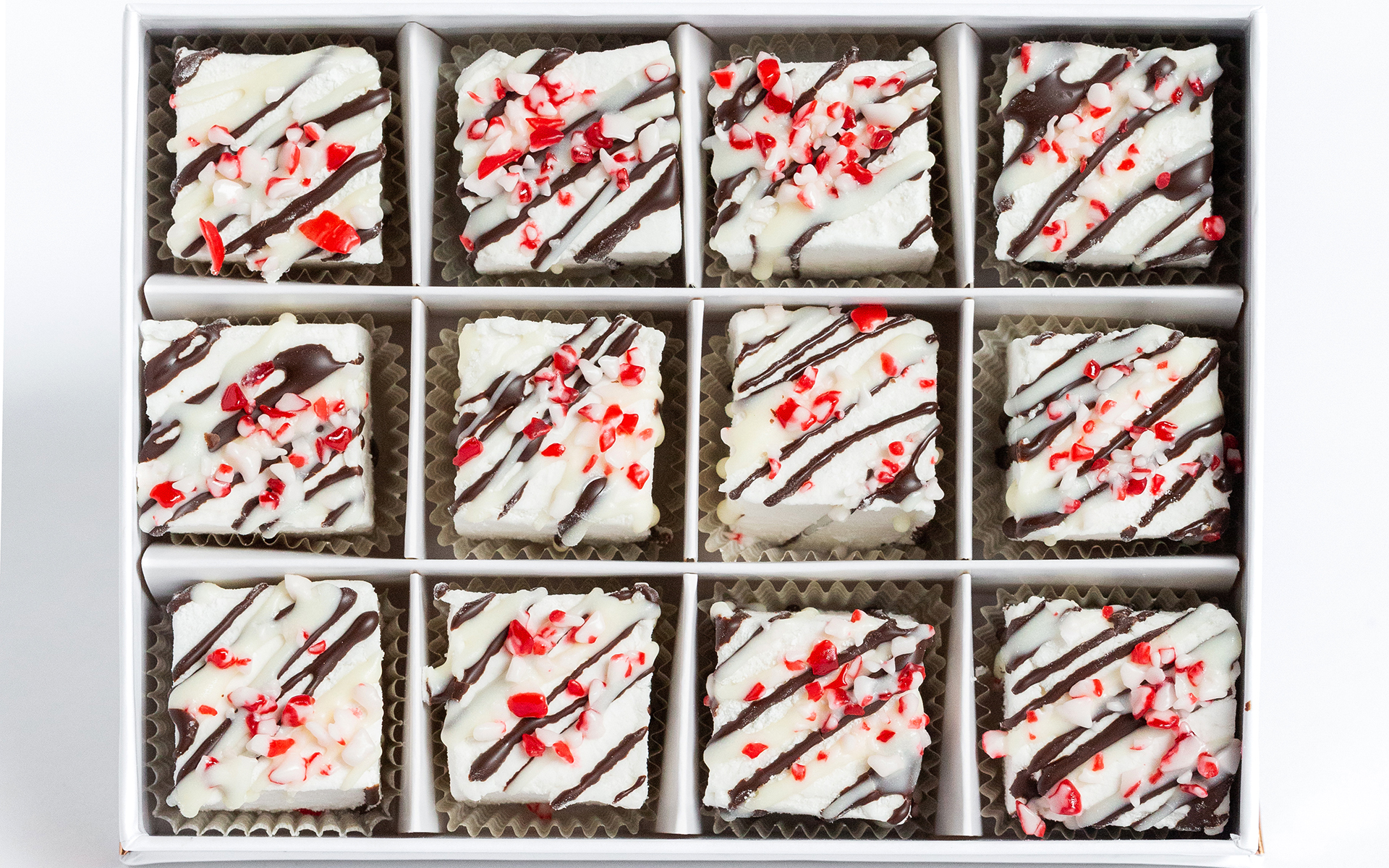 Peppermint and chocolate Mellows