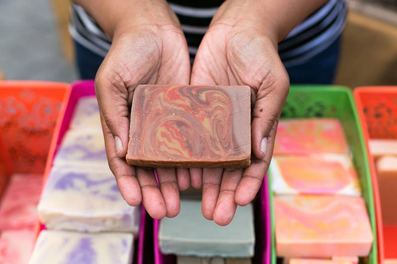 Wisdom Soaps offers gifts that are aesthetically beautiful and cleansing!