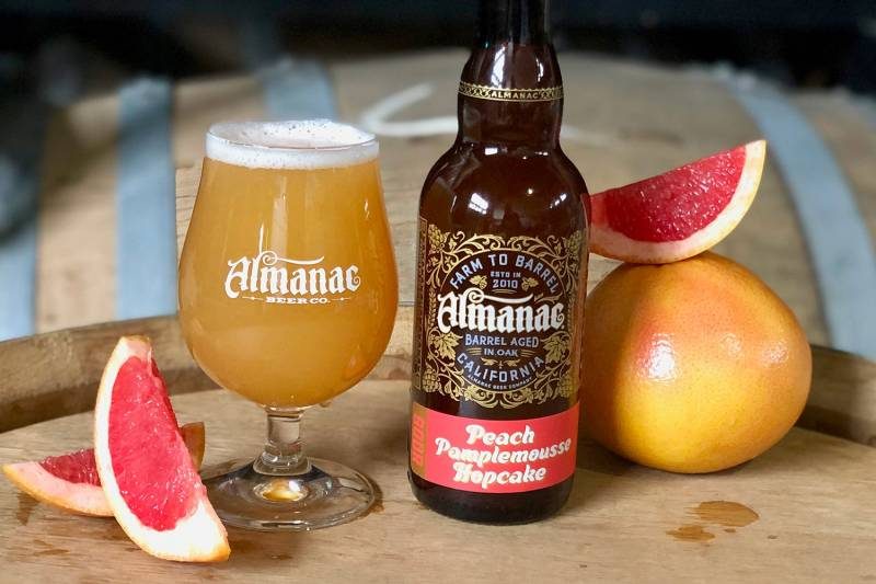 Peach-pamplemousse brews make excellent presents for beer lovers.
