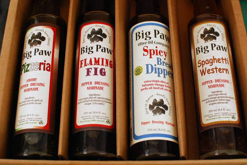 The gift of flavors from Big Paw.