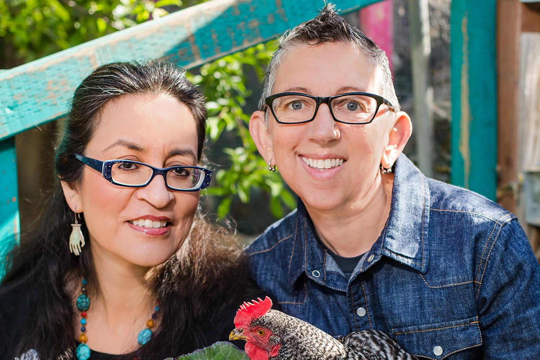 Bay Area professors Luz Calvo and Catriona Rueda Esquibel