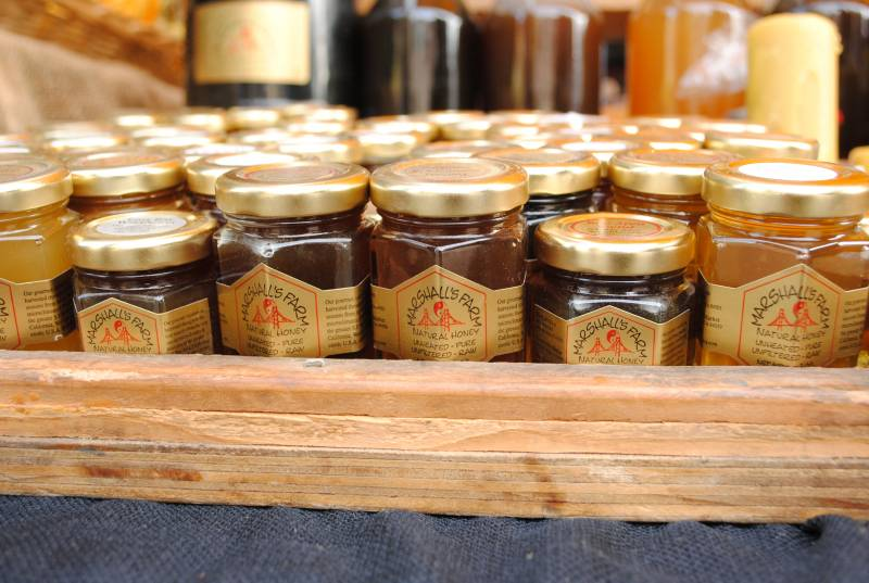 Honey is always a sweet gift from Marshall's Farm.